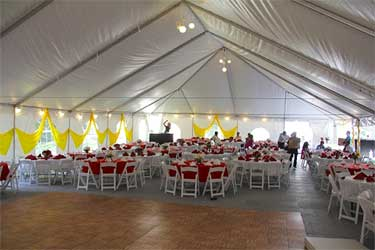 Flat Ridge Frame Tent Rentals Best Price Guarantee Free